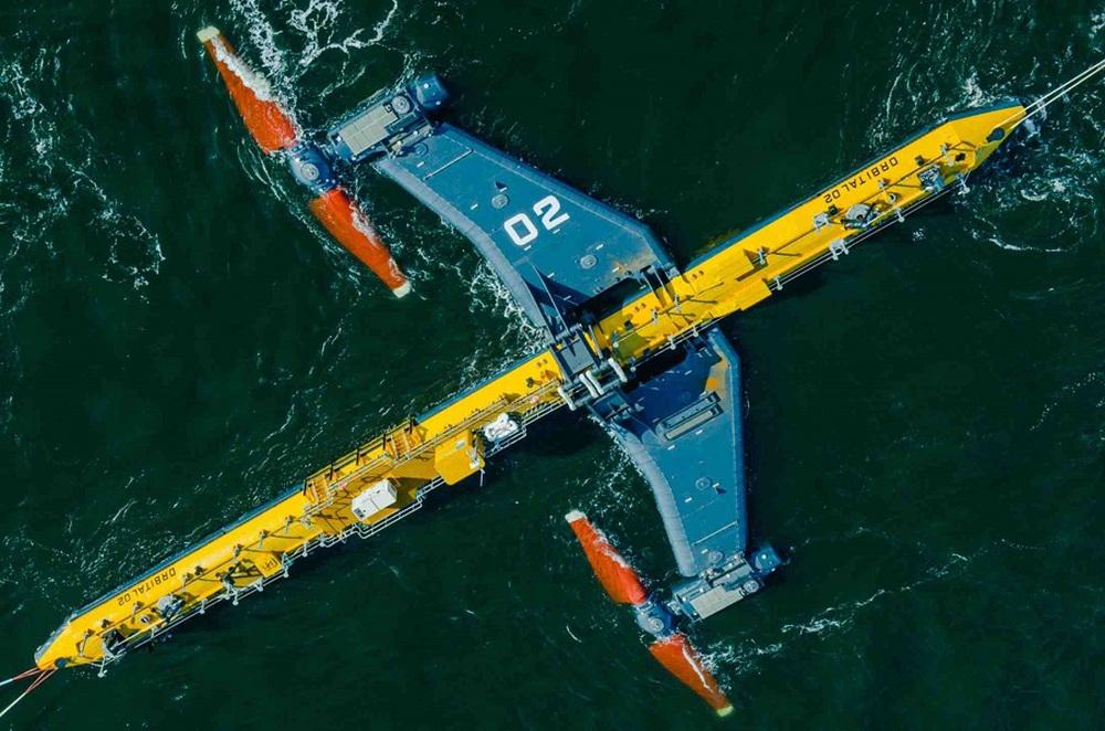 Thế giới vừa có tuabin thủy triều mạnh nhất hành tinh: Nặng 680 tấn, công suất cực khủng! - Ảnh 1.