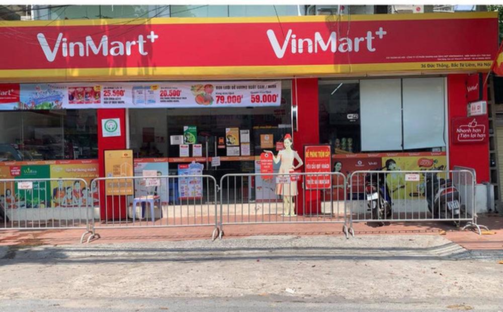 Danh sách 23 siêu thị VinMart, VinMart+ đóng cửa vì liên quan đến công ty Thanh Nga - nơi có chùm 21 ca F0