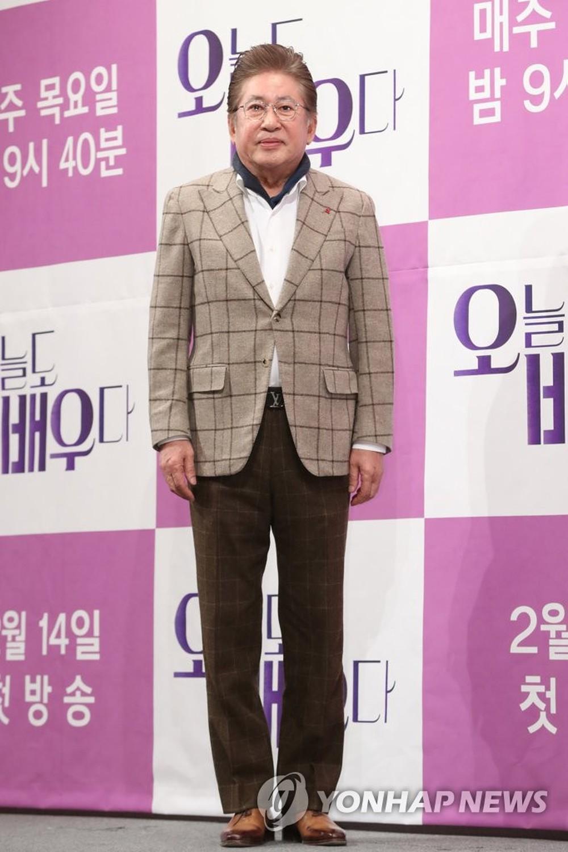 Nam diễn viên kì cựu Kim Yong Gun bị bạn gái kém 39 tuổi kiện vì ép cô phá thai - Ảnh 2.