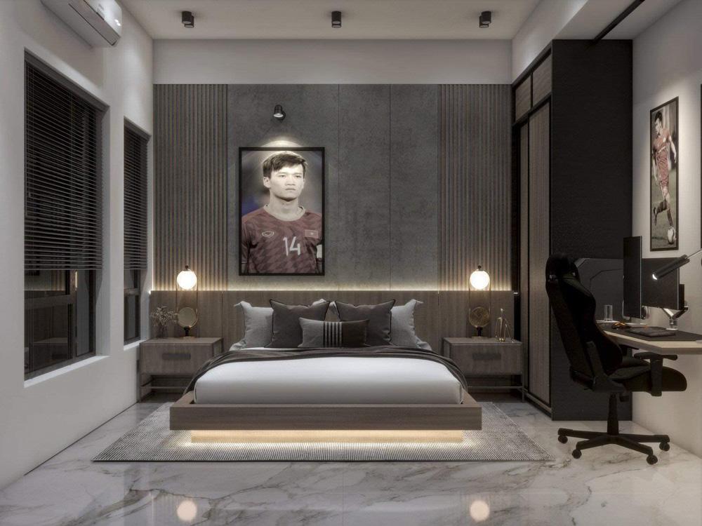 Hoàng Đức khoe phòng ngủ đầy tinh tế ở nhà mới, đẹp không kém phòng siêu sao quốc tế - Ảnh 3.