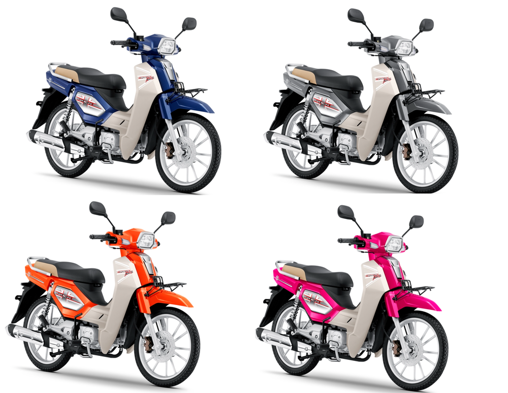 """Xe máy Thái """"bản sao"""" Honda Dream ra phiên bản mới, công nghệ xịn kèm giá 27 triệu đồng - Ảnh 1."""