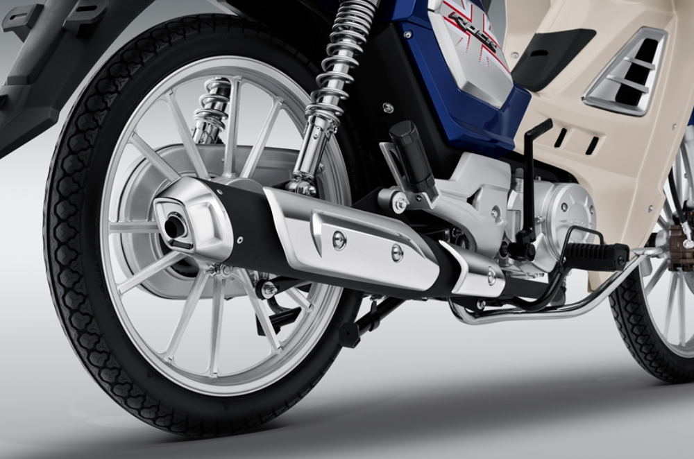 """Xe máy Thái """"bản sao"""" Honda Dream ra phiên bản mới, công nghệ xịn kèm giá 27 triệu đồng - Ảnh 5."""
