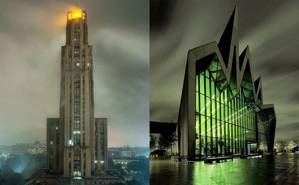 """Những tòa nhà nhìn thoáng qua đã thấy """"rùng mình"""""""