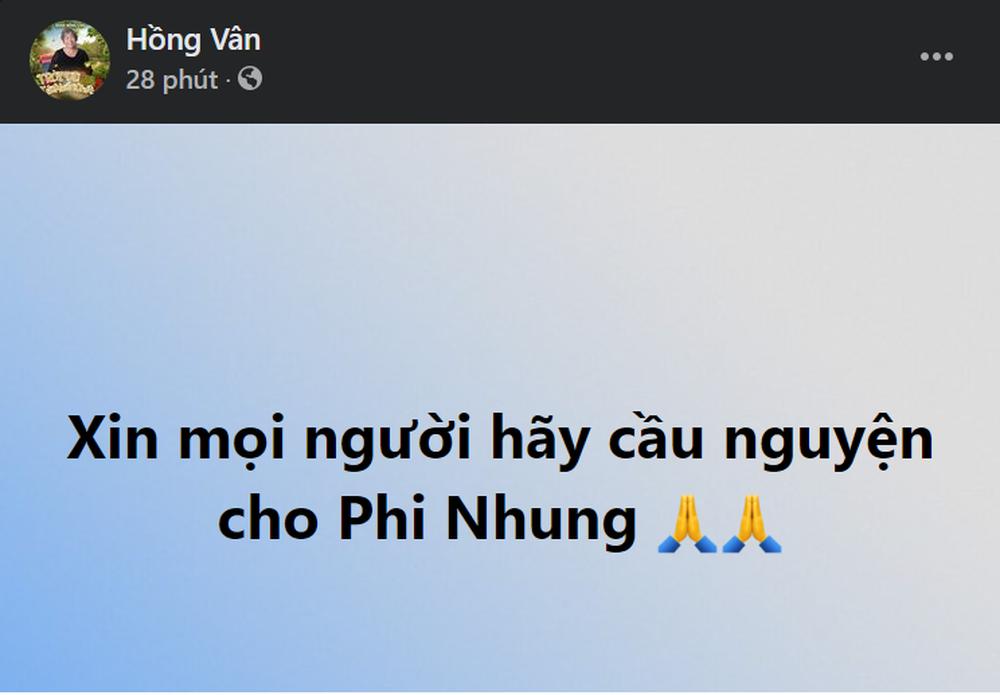 Sức khỏe Phi Nhung: Xuân Lan tiết lộ tình trạng hiện tại, Đàm Vĩnh Hưng viết lời kêu gọi cầu nguyện - Ảnh 4.