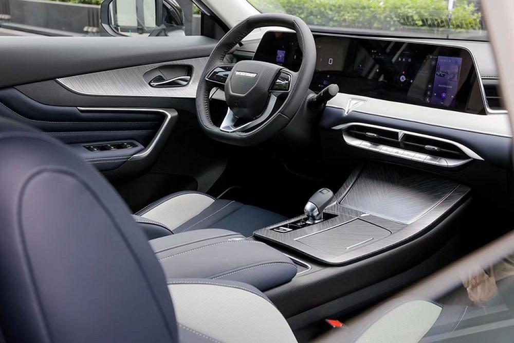 Cận cảnh SUV Trung Quốc tiêu thụ 6,6L/100km, đẹp mướt mắt, có chi tiết na ná VinFast - Ảnh 6.