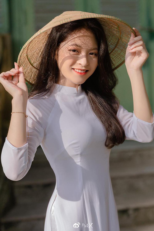 Hoa khôi trường Y sở hữu vẻ đẹp ngọt ngào gây thương nhớ trong tà áo dài - Ảnh 5.