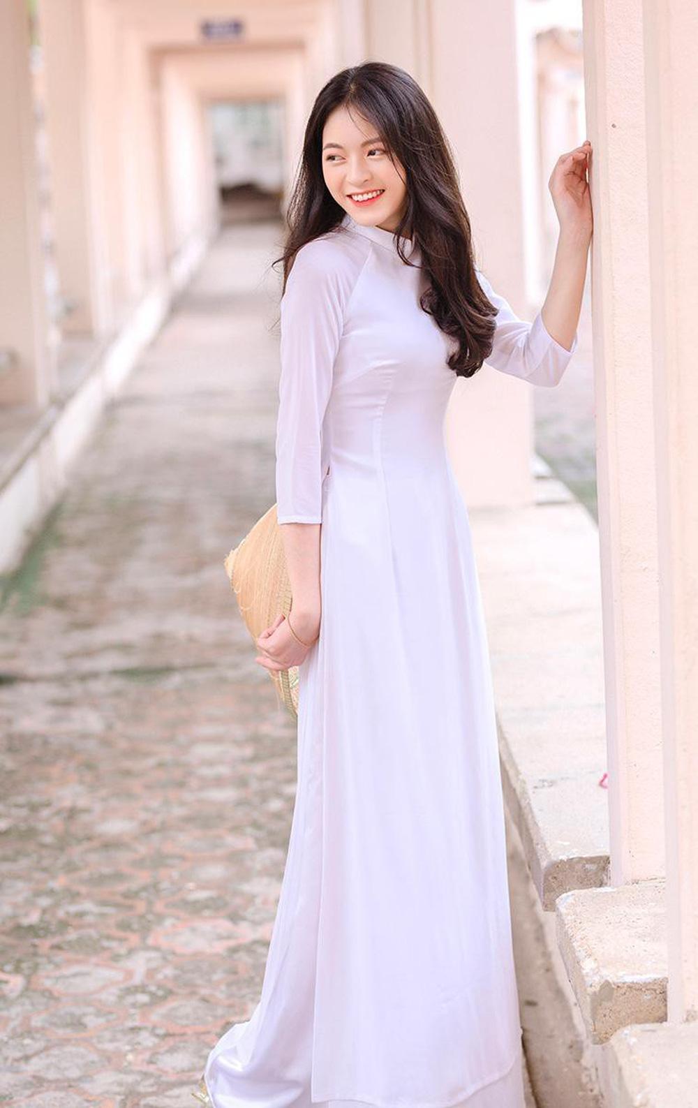 Hoa khôi trường Y sở hữu vẻ đẹp ngọt ngào gây thương nhớ trong tà áo dài - Ảnh 7.