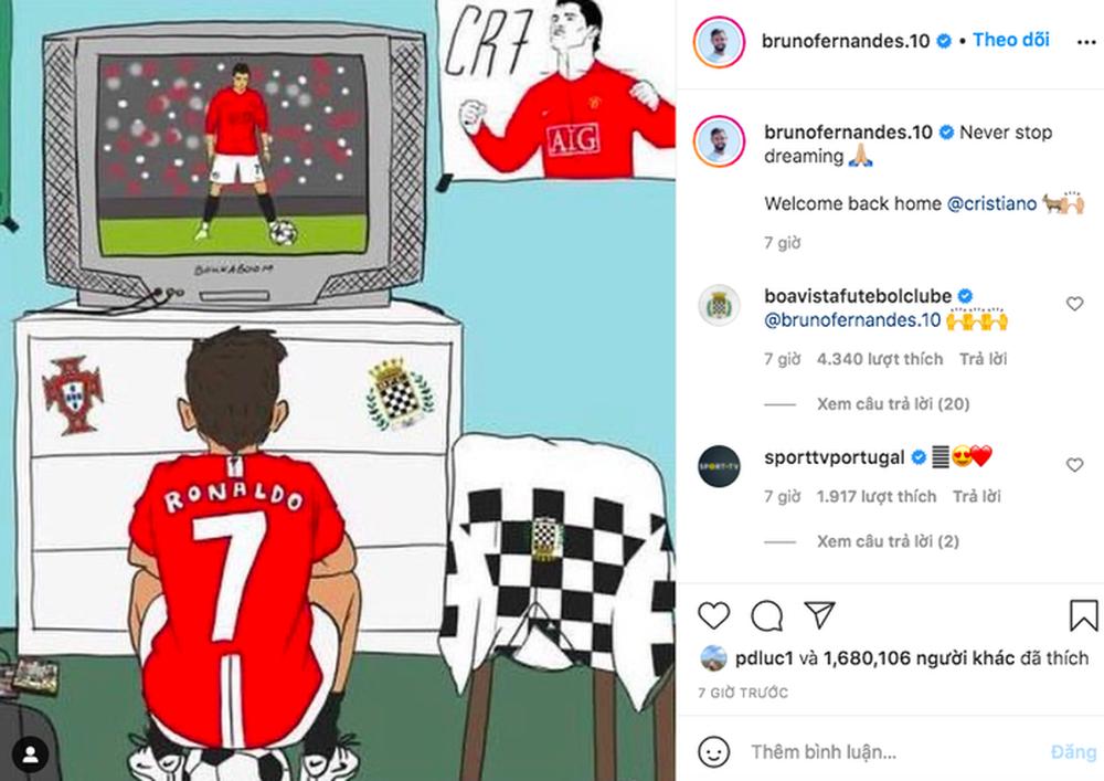 Sao MU ôn lại kỷ niệm với Ronaldo từ thuở nhỏ, sung sướng vì hoàn thiện giấc mơ thi đấu cùng thần tượng - Ảnh 1.