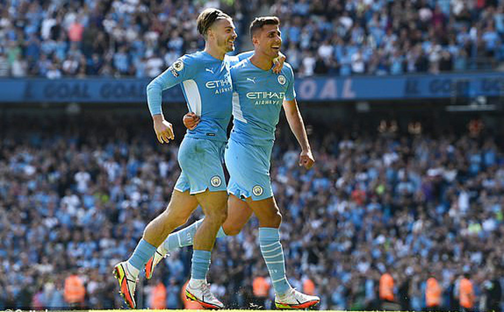 HẾT GIỜ Man City 5-0 Arsenal: The Citizens lên đỉnh mà không cần Ronaldo; Arsenal rơi xuống cuối BXH đầy bẽ bàng