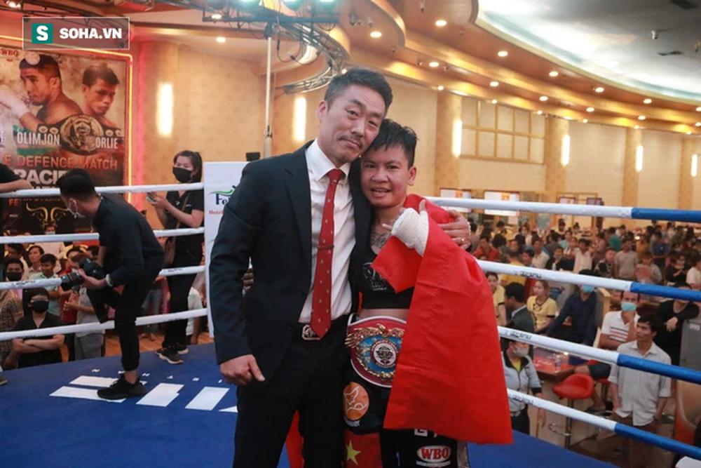 Nữ võ sĩ Việt Nam chốt ngày tranh đai vô địch thế giới với cao thủ Nhật Bản - Ảnh 2.