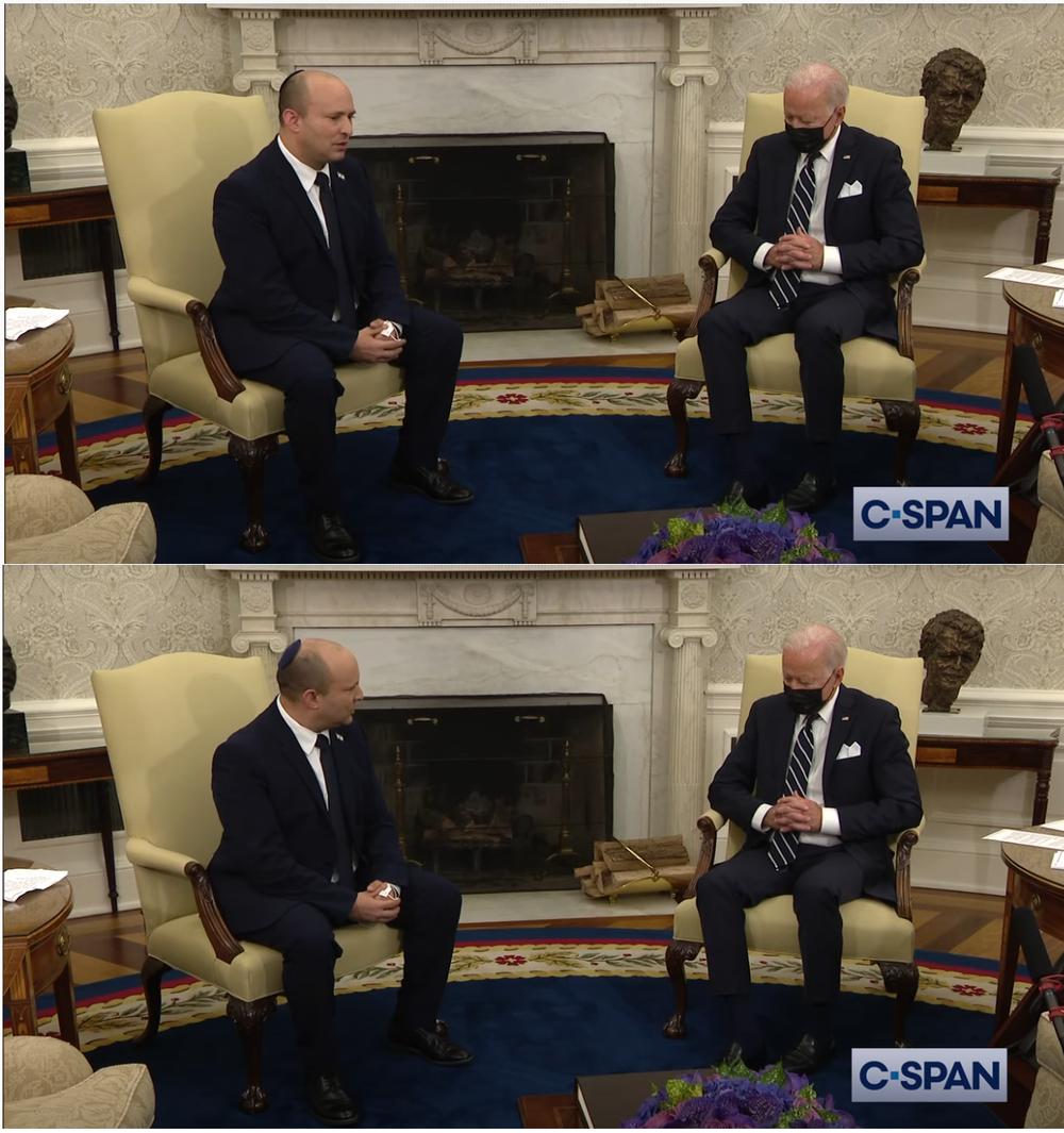 Dân Mỹ hốt hoảng trước đoạn video được chia sẻ mạnh: Ông Biden ngủ quên ngay lúc đang tiếp khách quan trọng? - Ảnh 1.
