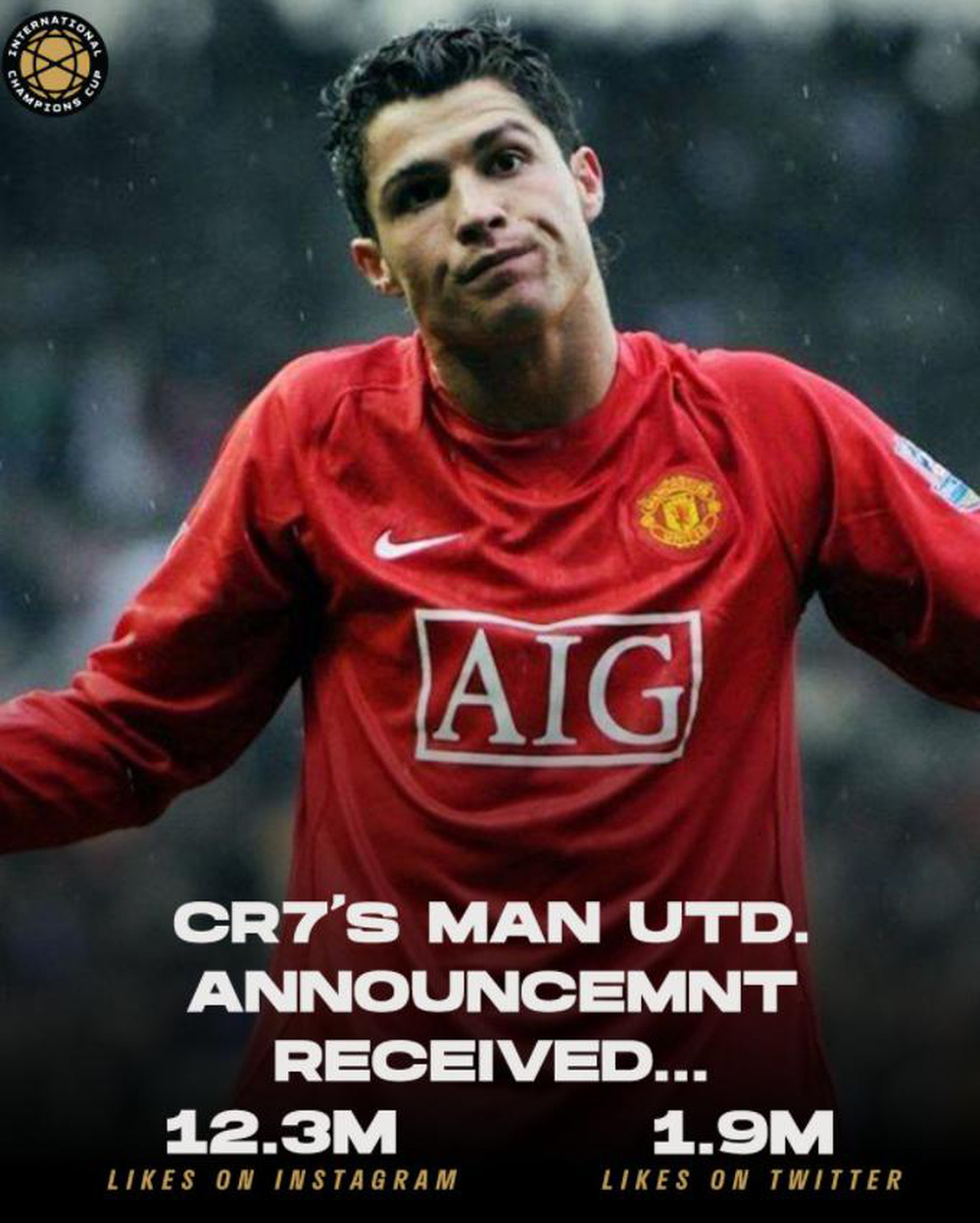 Nhờ Cristiano Ronaldo, Manchester United phá kỷ lục Twitter và Instagram - Ảnh 1.