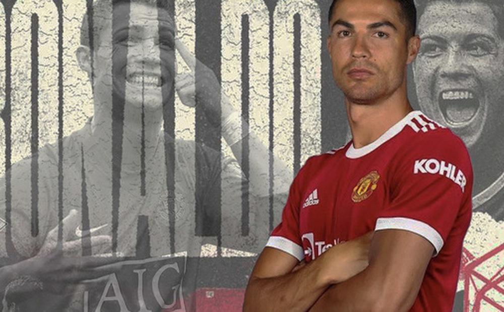 Nhờ Cristiano Ronaldo, Manchester United phá kỷ lục Twitter và Instagram