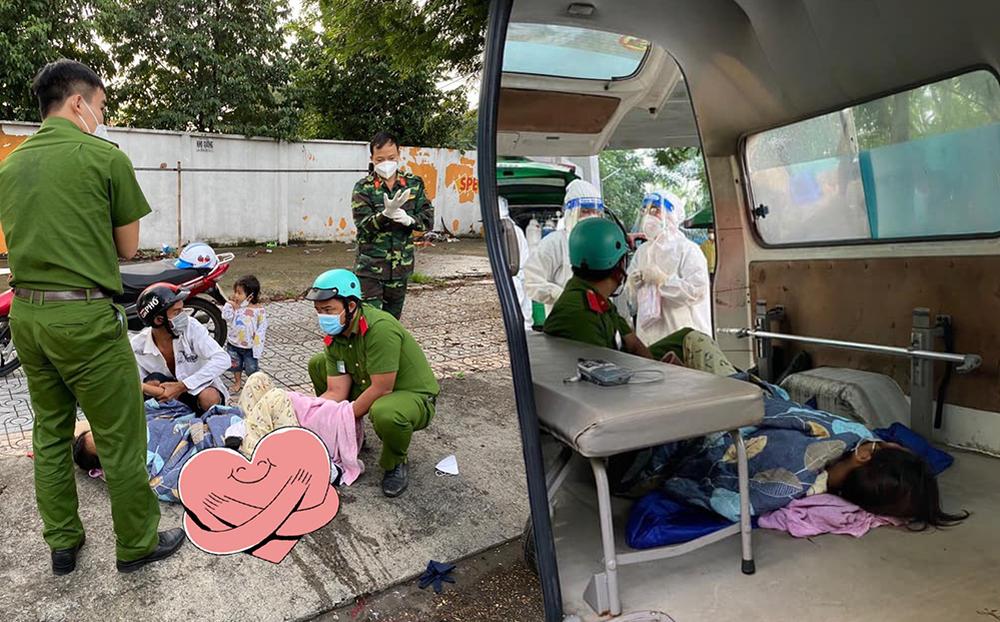 """Nam sinh viên cảnh sát và bộ đội trở thành """"bà mụ đỡ đẻ"""" cho thai phụ ngay trên vỉa hè phố Sài Gòn"""