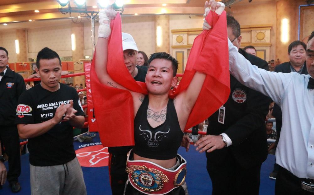 Nữ võ sĩ Việt Nam chốt ngày tranh đai vô địch thế giới với cao thủ Nhật Bản