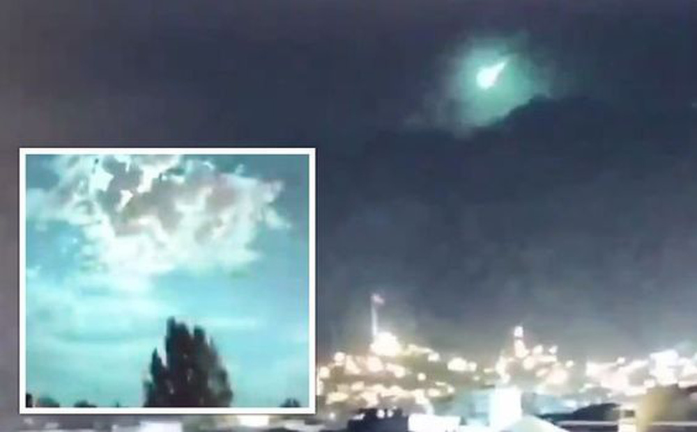 Bí ẩn ở Thổ Nhĩ Kỳ lúc 2 giờ sáng: Cư dân kinh hãi khi chứng kiến bầu trời đột nhiên 'nhuốm' màu xanh kỳ lạ
