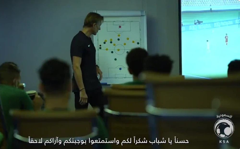 HLV Saudi Arabia thăm dò chiến thuật của Việt Nam, quyết tâm giành vé dự World Cup