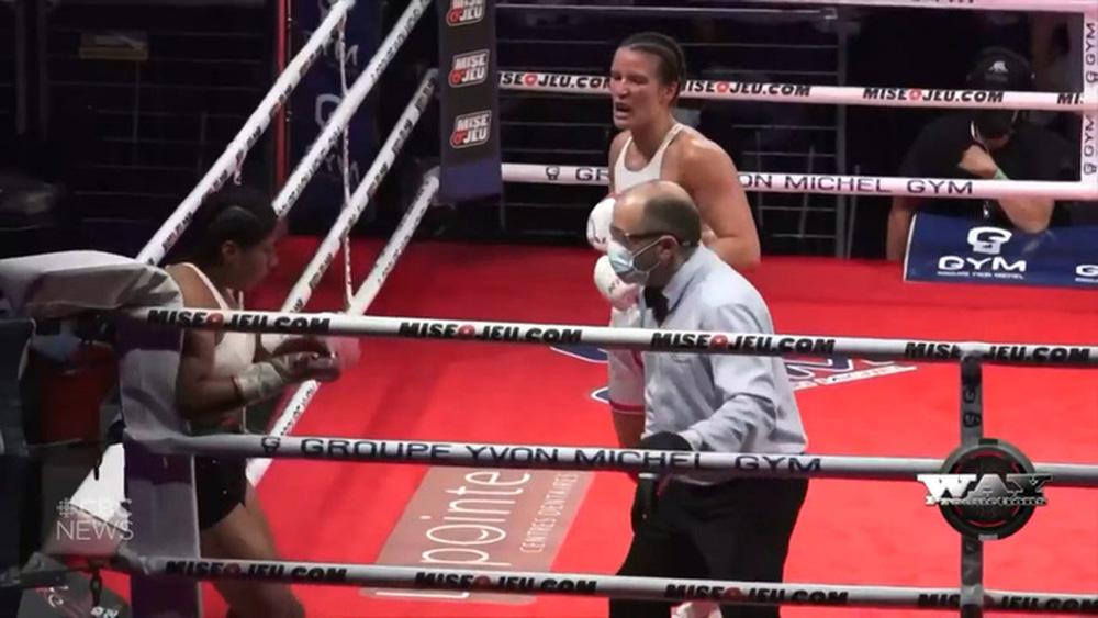 Nữ võ sĩ nguy kịch sau khi bị đối thủ hạ đo ván trên sàn đấu - Ảnh 4.