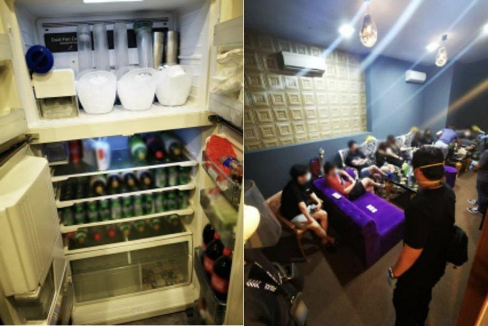 Singapore: Ập vào các quán karaoke và mát xa, cảnh sát ngỡ ngàng với diễn biến bên trong, gần 100 người bị bắt giữ - Ảnh 1.
