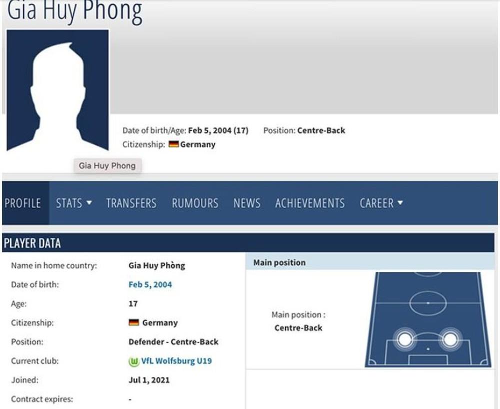 Sao trẻ gốc Việt chơi bóng ở Đức - Ảnh 1.