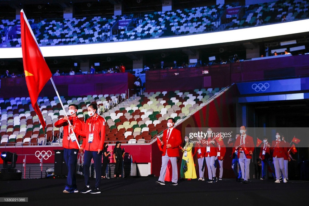 Kình ngư Huy Hoàng chia sẻ kỷ niệm khó quên ở Olympic Tokyo 2020 - Ảnh 1.