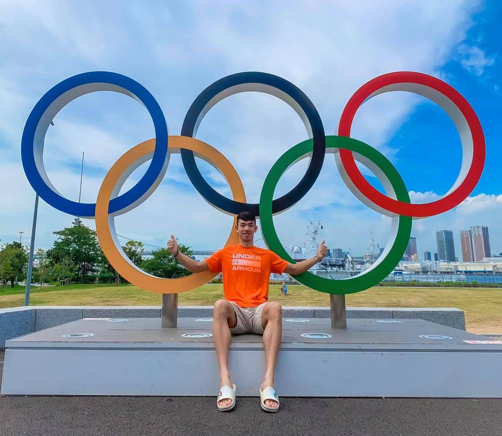 Kình ngư Huy Hoàng chia sẻ kỷ niệm khó quên ở Olympic Tokyo 2020 - Ảnh 3.
