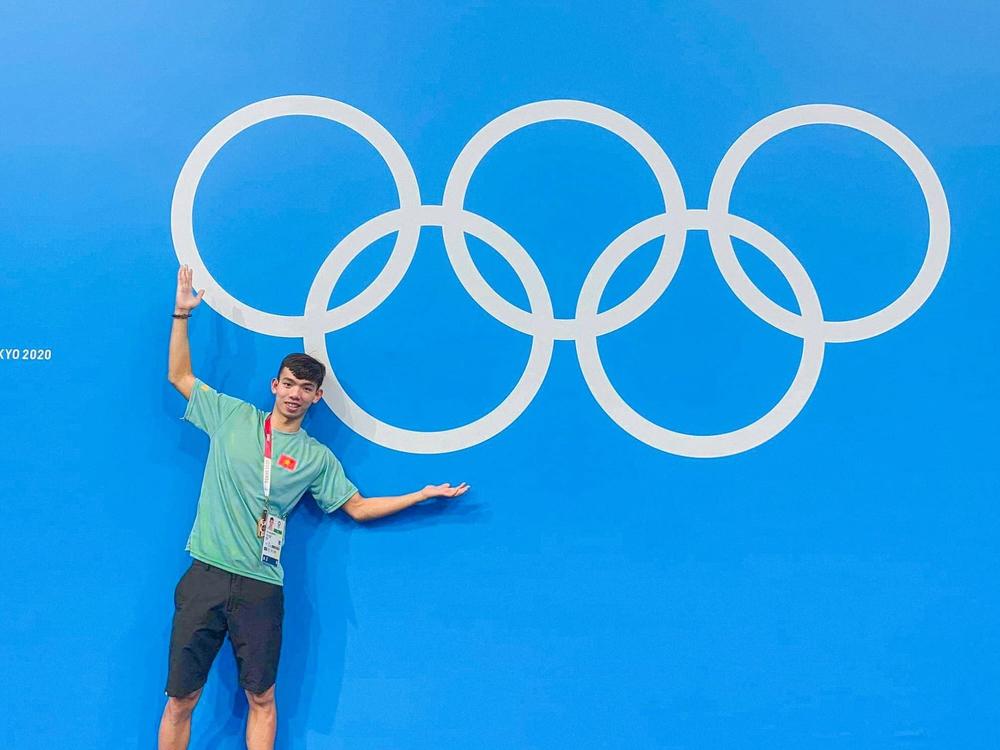 Kình ngư Huy Hoàng chia sẻ kỷ niệm khó quên ở Olympic Tokyo 2020 - Ảnh 5.