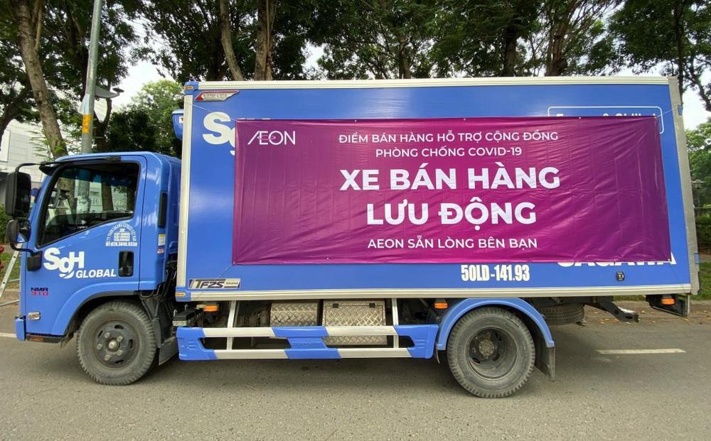 Hà Nội đã có xe bán hàng lưu động, hoạt động từ 9h30 mỗi ngày