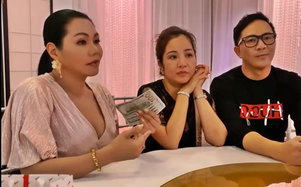 Ngọc Huyền nhận lại 500 đô, minh oan cho Thúy Nga trong vụ bị tố ăn chặn tiền từ thiện của Kim Ngân