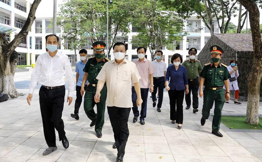 Bí thư Thành ủy Hà Nội Đinh Tiến Dũng: Tự hào về ý chí, sức mạnh của quân và dân Thủ đô