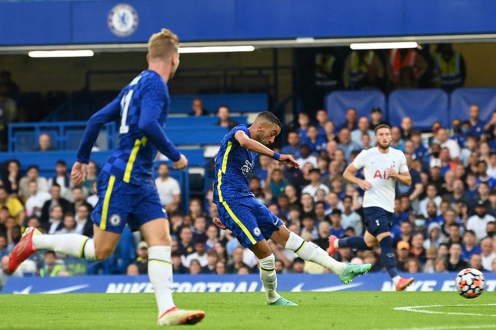 Chelsea 2-2 Tottenham: Ziyech lập cú đúp, Son Heung-min kiến tạo - Ảnh 2.