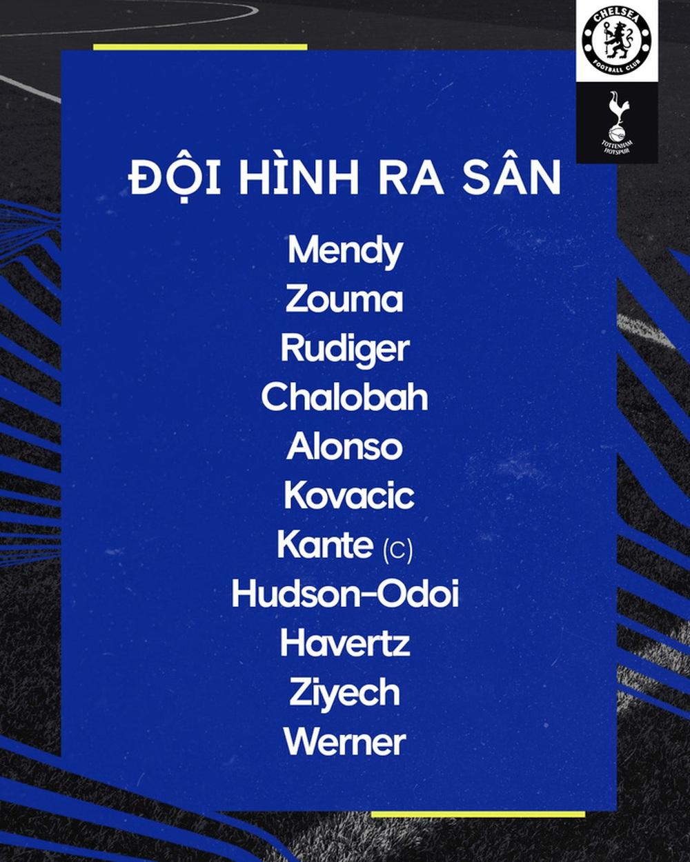 Chelsea 2-2 Tottenham: Ziyech lập cú đúp, Son Heung-min kiến tạo - Ảnh 10.
