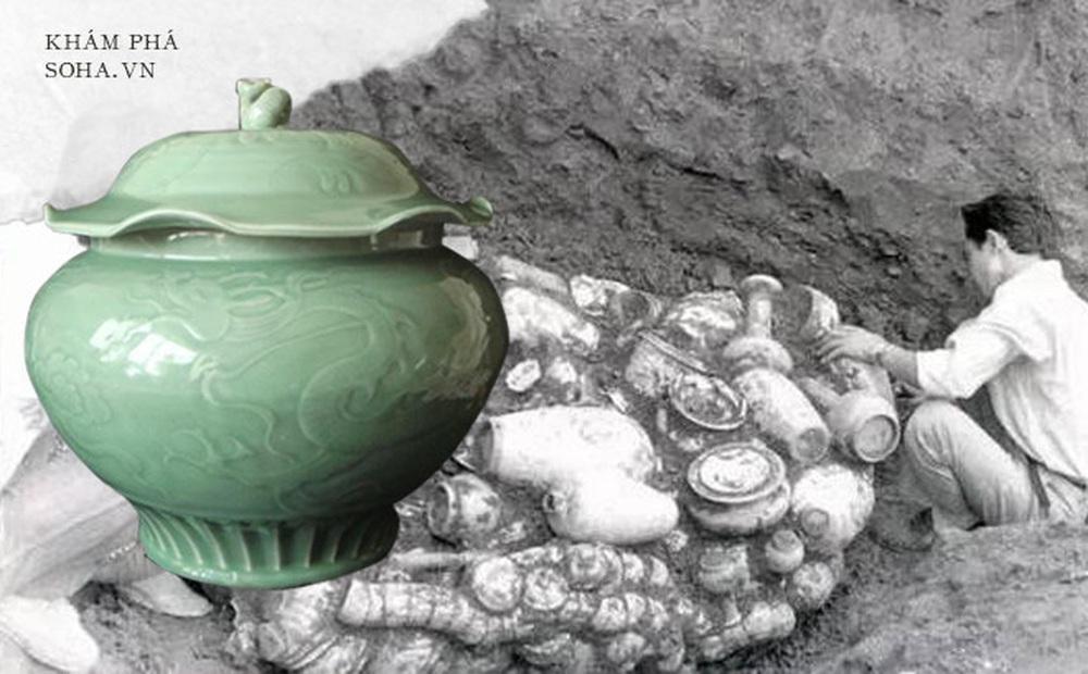 Chàng trai đào huyệt tìm thấy chiếc bình lá sen: Khi đội khảo cổ đến nơi, họ đã xới tung cả khu đất!