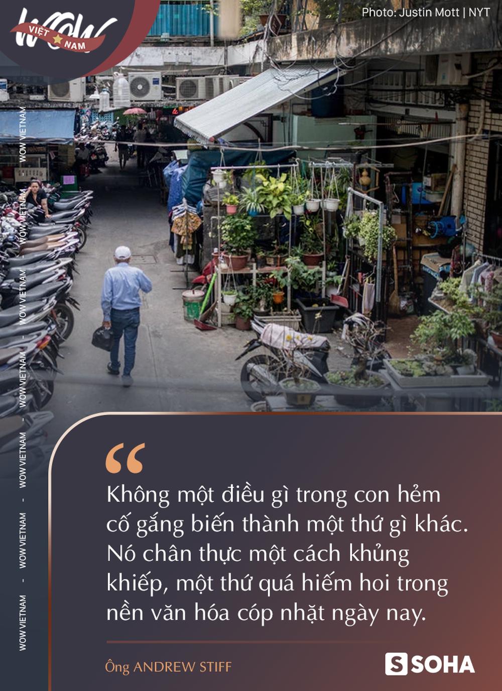 Tiến sỹ Anh: Trải nghiệm nặng đô làm tăng adrenaline trong những con hẻm Sài Gòn - Ảnh 3.