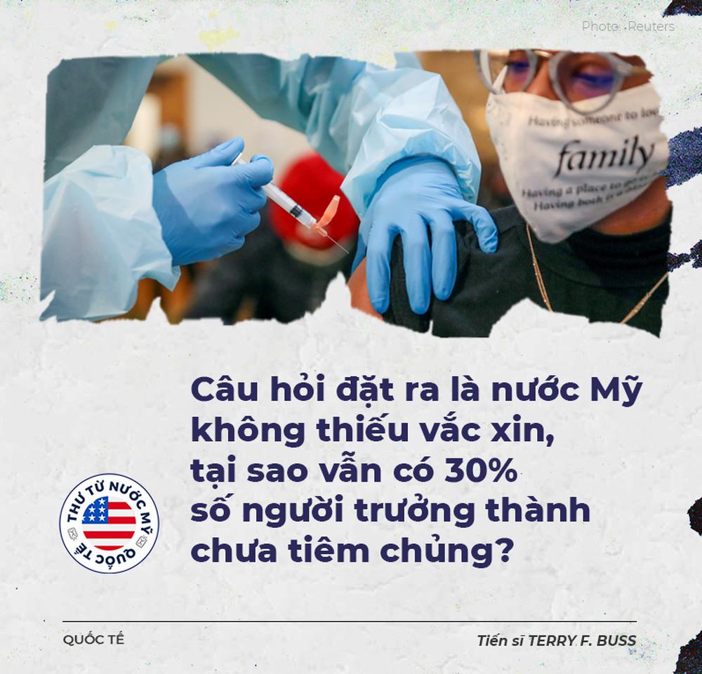 Thư từ nước Mỹ: Đối diện quái vật Delta, vì sao hàng chục triệu người Mỹ vẫn chưa chịu tiêm vắc xin Covid-19? - Ảnh 3.