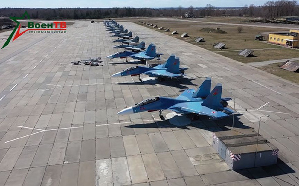 Tiêm kích hạng nặng Su-30SM của Nga được cử đến Belarus để làm gì?