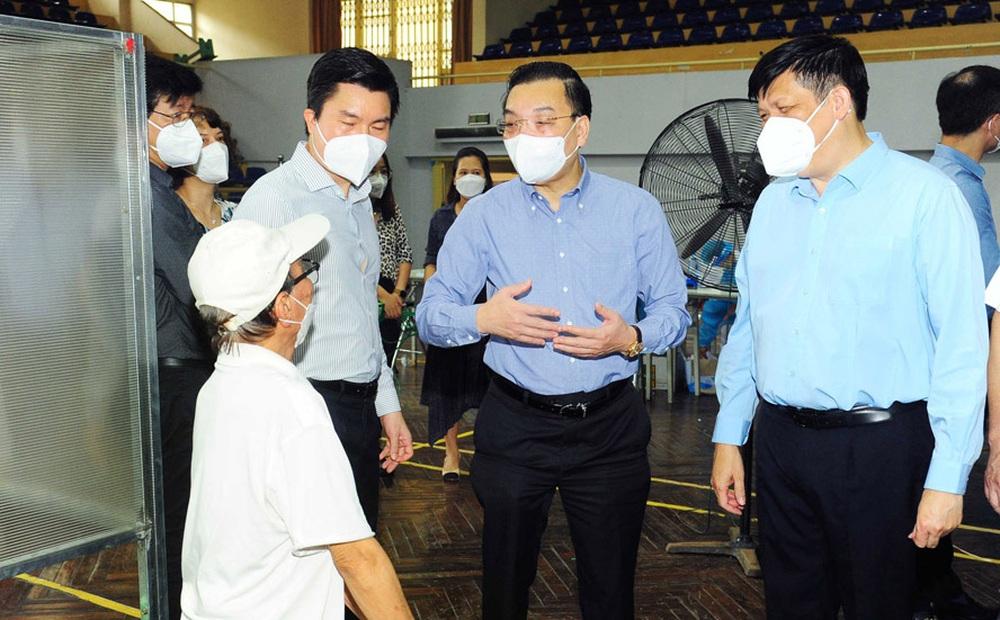 Chủ tịch Hà Nội Chu Ngọc Anh nêu 2 mục tiêu làm cơ sở xem xét nới lỏng giãn cách