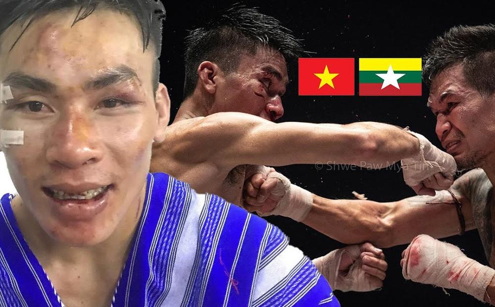 """Võ sĩ Việt Nam gây bất ngờ lớn trước """"Người sắt Myanmar"""" tại sàn võ tàn bạo nhất thế giới"""