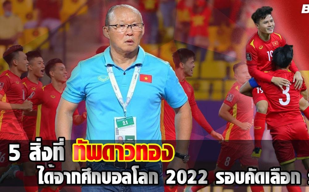 Báo Thái Lan chỉ ra thành công lớn của tuyển Việt Nam dù để thua Saudi Arabia, Australia