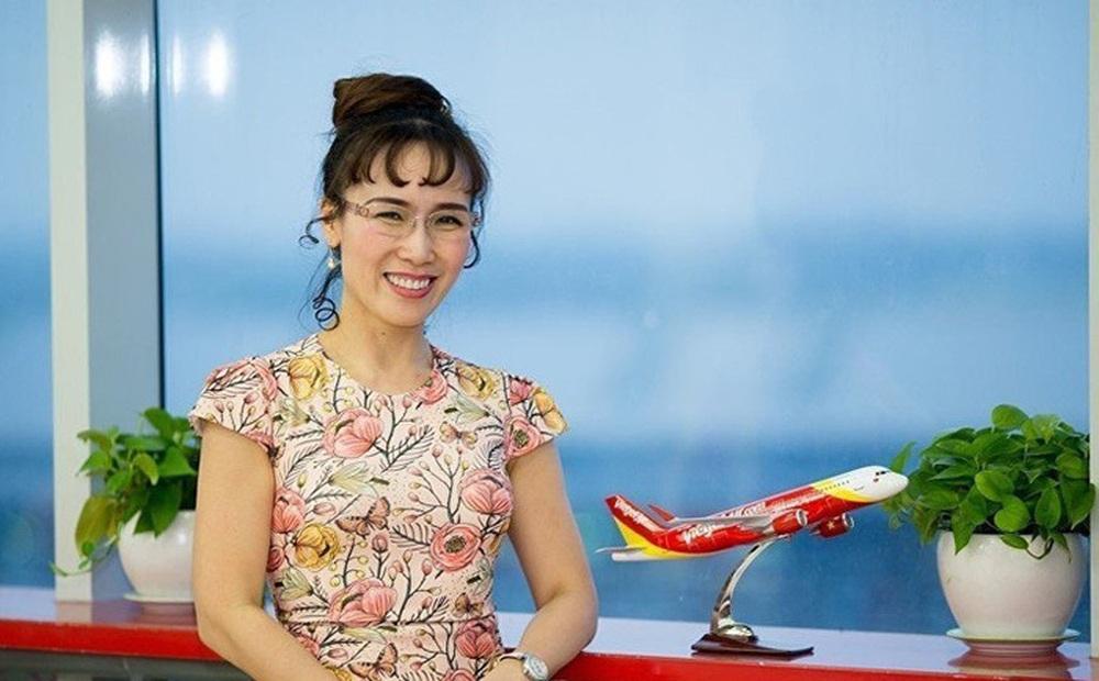 Cổ phiếu hàng không trỗi dậy, bà chủ Vietjet trở lại Top 5 người giàu nhất