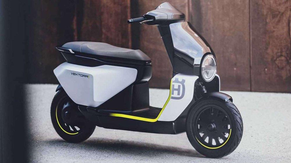 """Mẫu xe máy điện mới thiết kế """"sắc lẹm"""", sạc đầy pin đi 95 km, chặt đẹp mọi mẫu mã - Ảnh 3."""