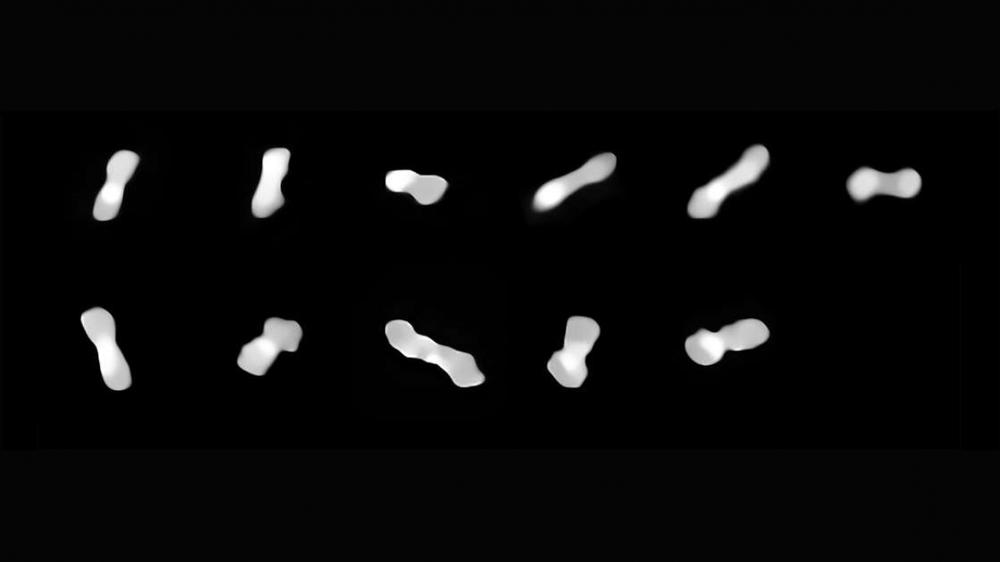 Phát hiện tiểu hành tinh kỳ lạ có hình dạng xương chó - Ảnh 1.