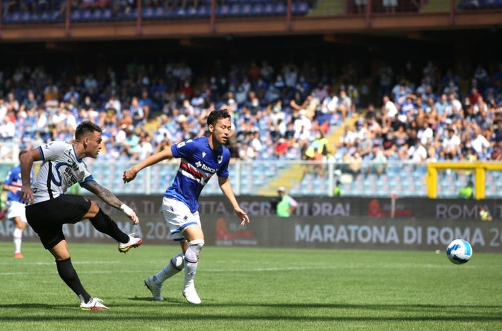 Công làm thủ phá, Inter Milan bất lực để Sampdoria cầm chân với tỷ số 2-2 sau 90 phút - Ảnh 3.