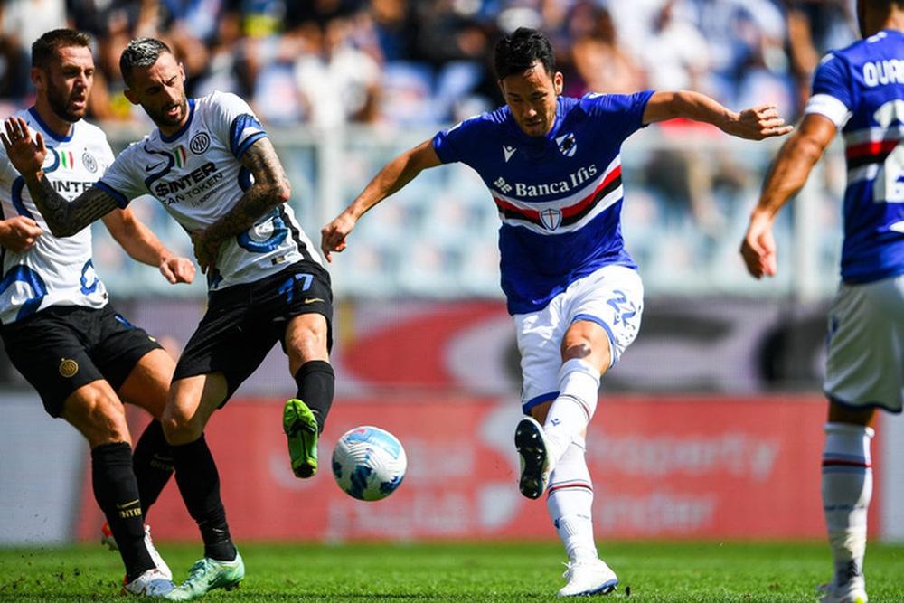 Công làm thủ phá, Inter Milan bất lực để Sampdoria cầm chân với tỷ số 2-2 sau 90 phút - Ảnh 4.