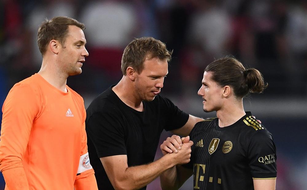 Bayern đại thắng Leipzig trong ngày HLV Nagelsmann trở về mái nhà xưa