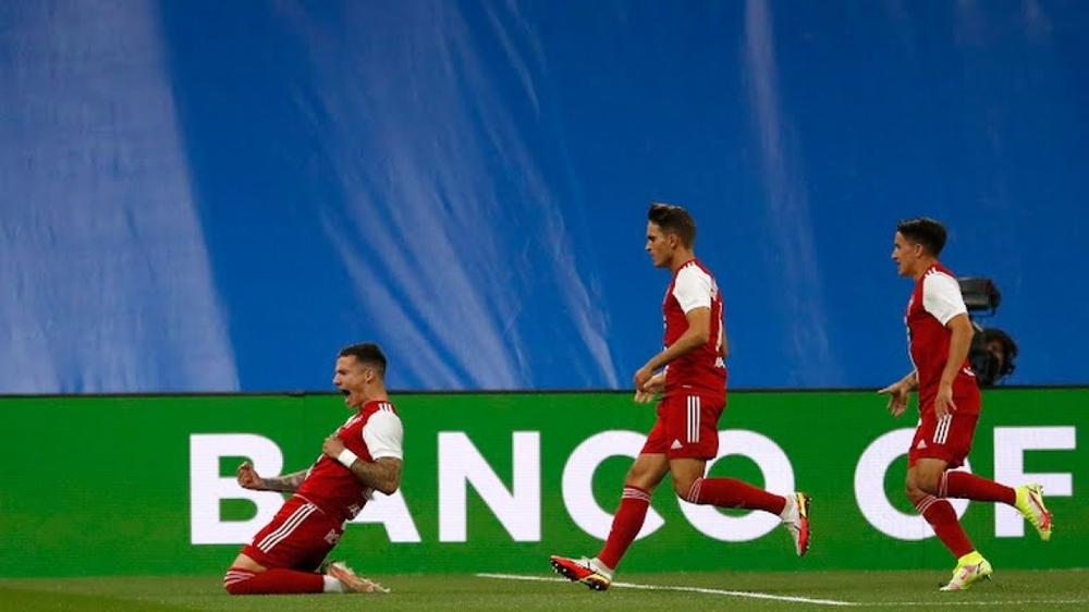 Real Madrid 5-2 Celta Vigo: Benzema ghi hat-trick, Camavinga ra mắt như mơ - Ảnh 1.