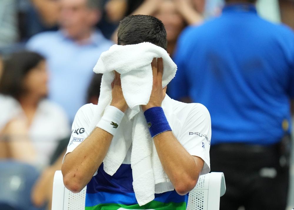 Djokovic nói gì khi thua Medvedev ở chung kết US Open 2021? - Ảnh 1.