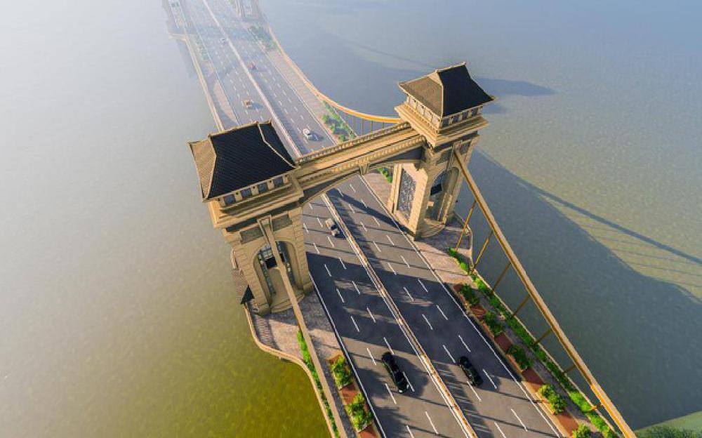 Cầu 8.900 tỷ đồng nối quận Hoàn Kiếm với Long Biên sẽ được xây như thế nào? - Ảnh 1.