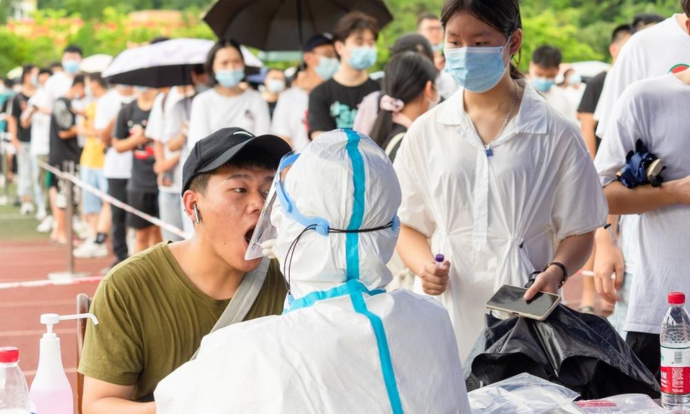 Trung Quốc xét nghiệm tất cả trường học ở Phúc Kiến vì dịch Covid-19 - Ảnh 1.