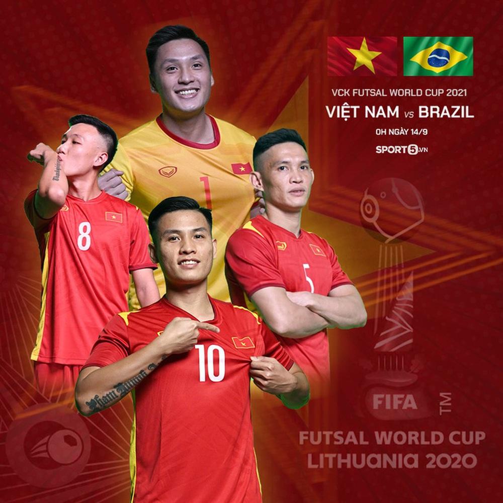 Cầu thủ futsal Việt Nam đá World Cup để lo cho cha chữa bệnh hiểm nghèo - Ảnh 3.